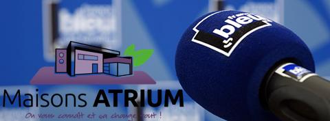 Interview Maisons ATRIUM du 22 septembre 2015 France Bleu Sud Lorraine