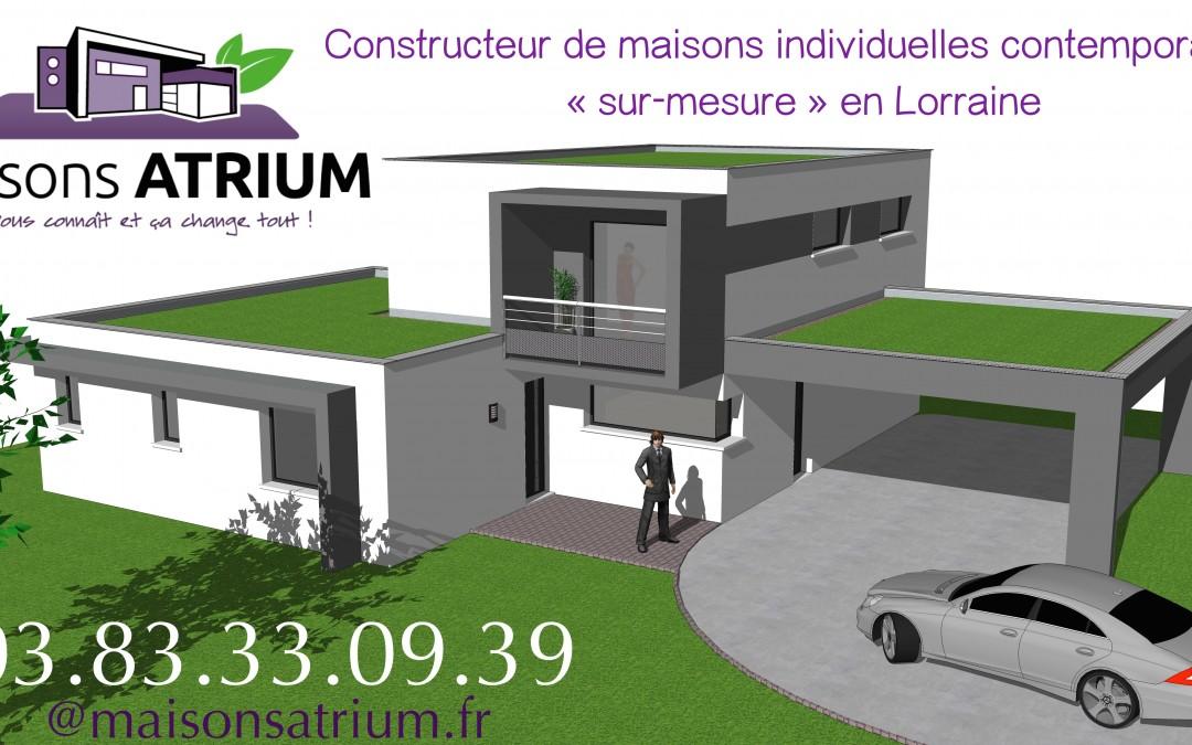 Maisons ATRIUM – Constructeur de maisons individuelles en Lorraine