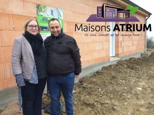 MAISONS ATRIUM - CONSTRUCTEUR LA HAOE CERLIN À SEICHAMPS 54280